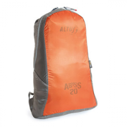 Abyss 20L ultralight daypack orange/grey