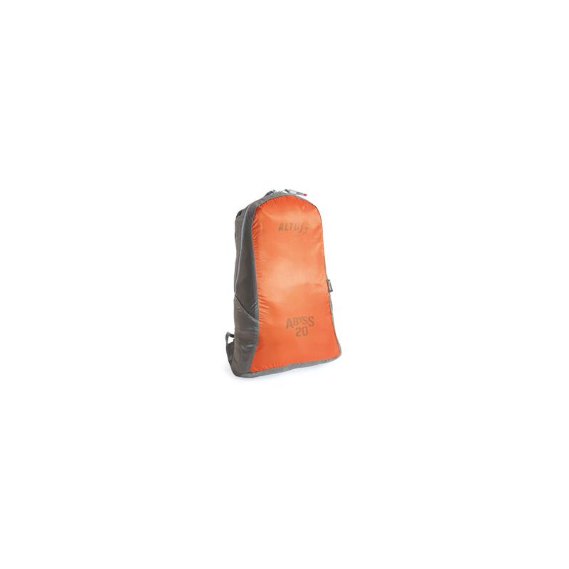 Abyss 20L ultralight daypack orange/grey