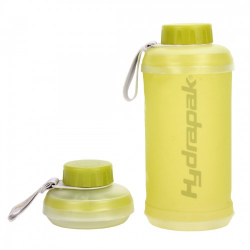Hydrapak Stash 750ml collapsible bottle lime