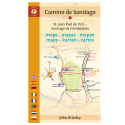 John Brierley - Maps Only Guide to the Camino de Santiago (2018)