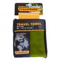 Travelsafe Microfiber Towel 120x60cm green