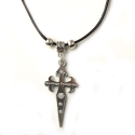 Cross of Apostol Santiago necklace