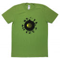 Camino World mens T-shirt - kiwi green L