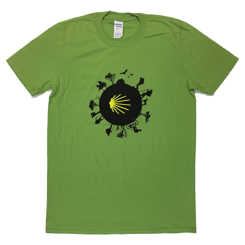 Camino World mens T-shirt - kiwi green M