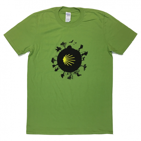 Camino World mens T-shirt - kiwi green XL