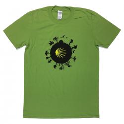 Camino World mens T-shirt - kiwi green XXL
