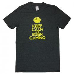 Keep Calm mens T-shirt - dark grey XXL