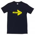 Yellow Arrow mens T-shirt - navy XXL