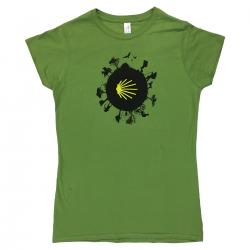 Camino World womens T-shirt - kiwi green L
