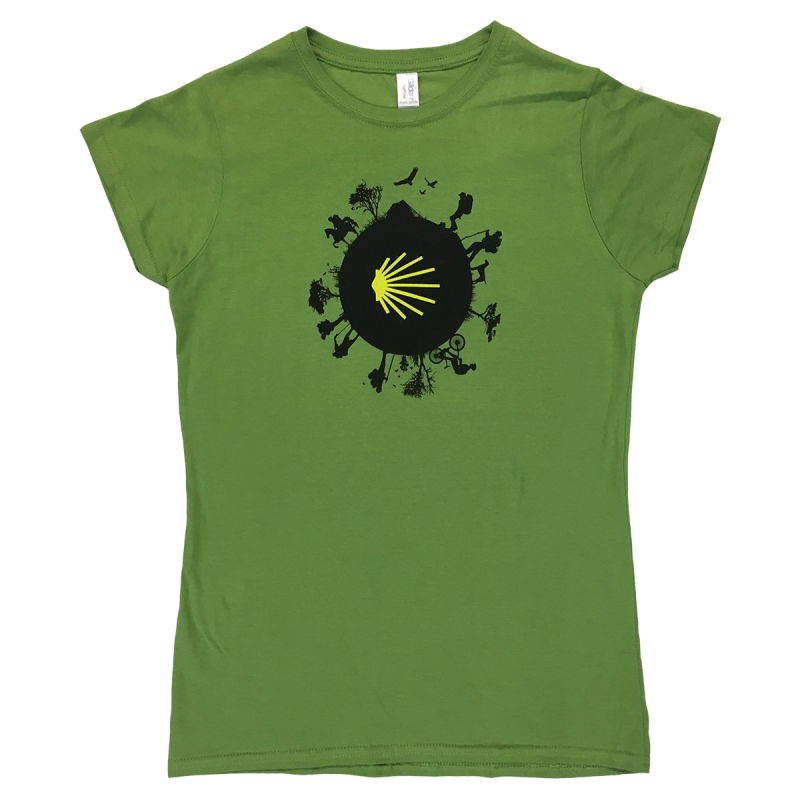 Camino World womens T-shirt - kiwi green L