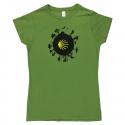 Camino World womens T-shirt - kiwi green XL