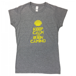 Keep Calm womens T-shirt - light grey L