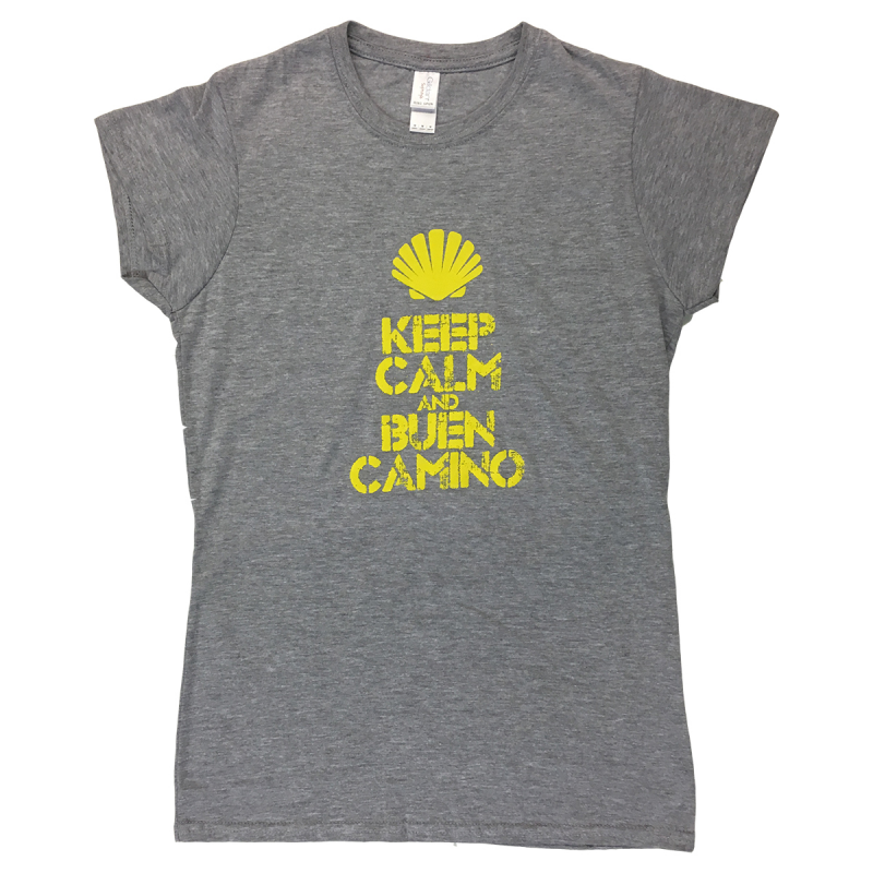 Keep Calm womens T-shirt - light grey XL
