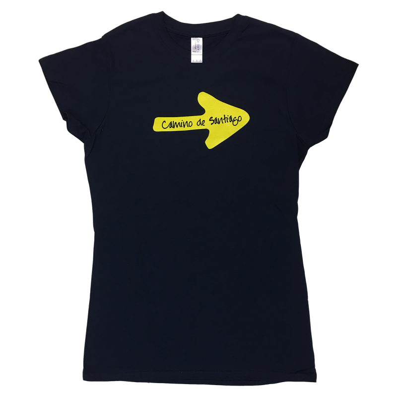 Yellow Arrow womens T-shirt navy XL
