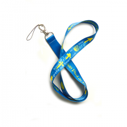 Camino lanyard with keyring