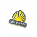 Metal pin - Yellow shell