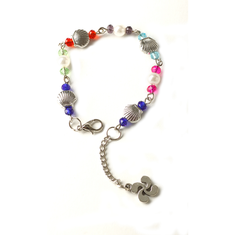 Pearl bracelet - Camino-shell, multicolor