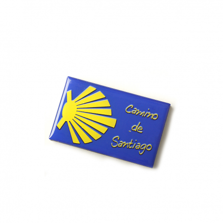 Silicone magnet with Camino shell