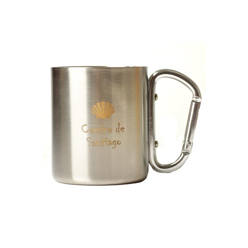 Metal cup Camino de Santiago