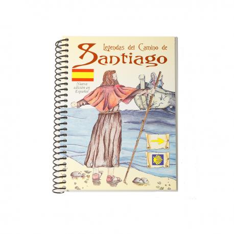 Mini book Legends of the Camino - spanish