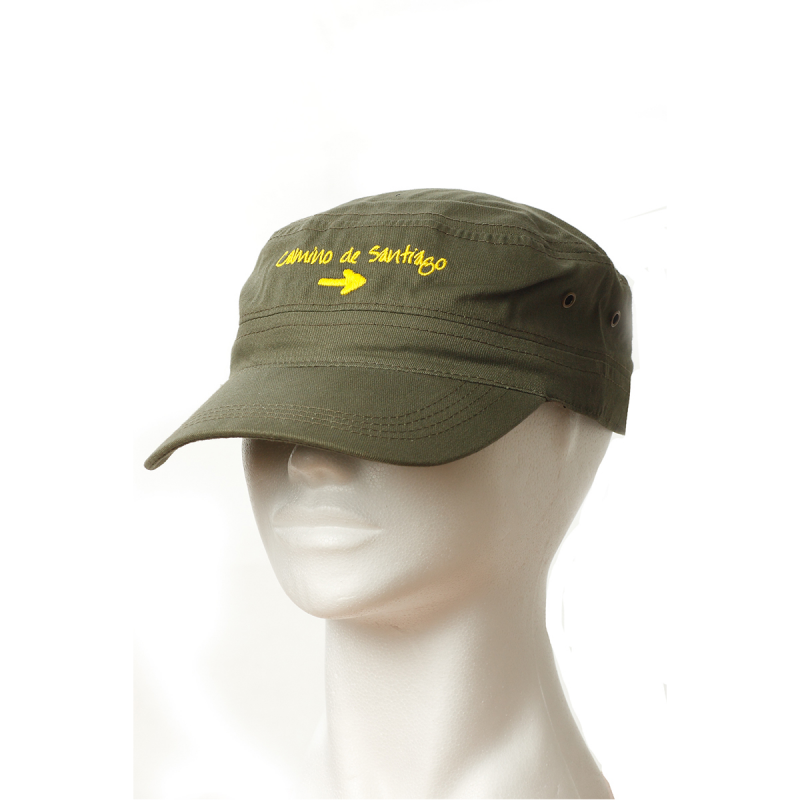 Baseball cap Yellow arrow, darkgreen