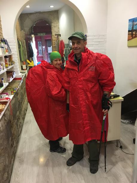 Poncho de lluvia Altus Atmospheric S3 M-L rojo