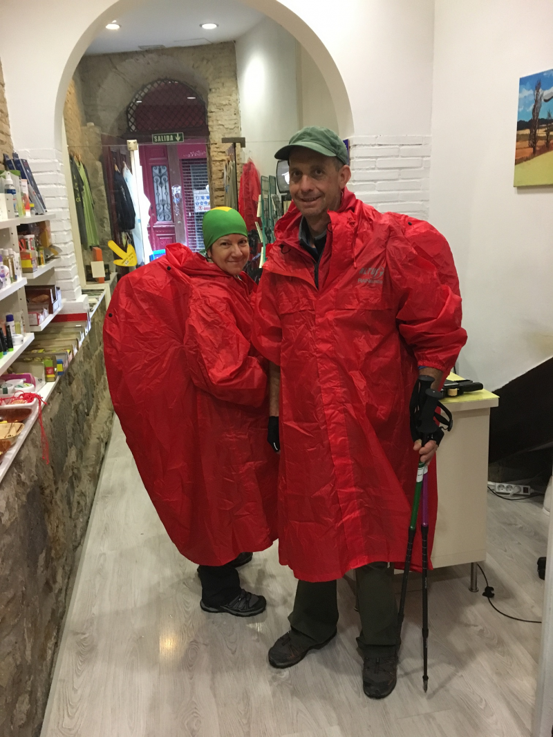Rainponcho Altus Atmospheric S3 red