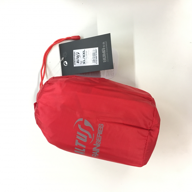 Poncho Altus Atmospheric S3 XL-XXL rojo
