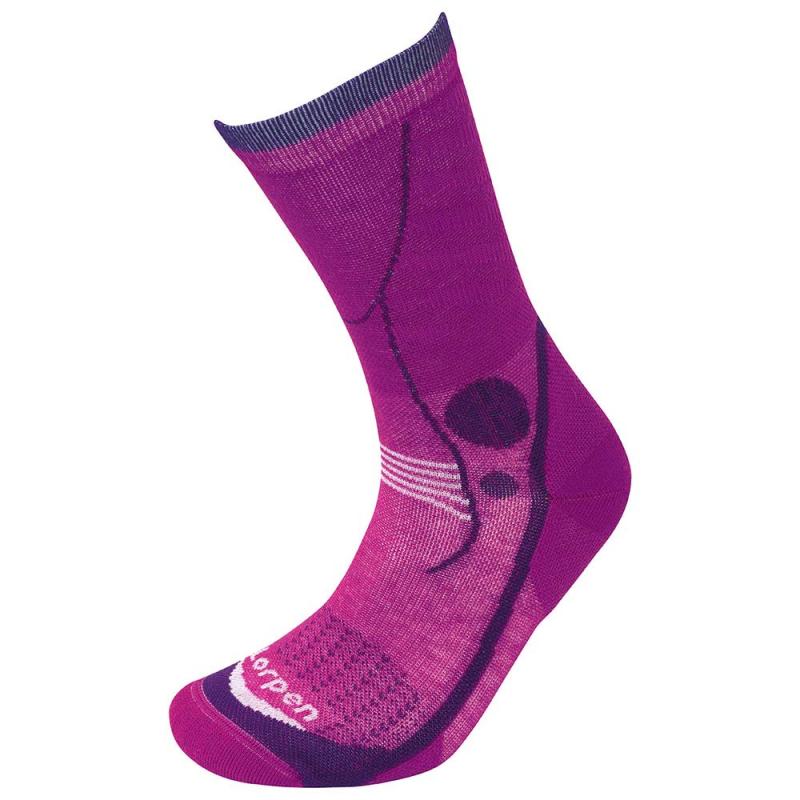 Lorpen T3 Light Hiker Women Socks Violet S