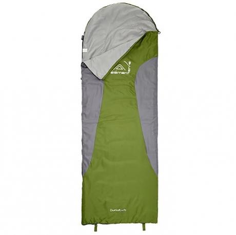 Elementerre Dwinloft Saco de Dormir verde/gris