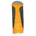 Elementerre Dwinloft Saco de Dormir naranja/gris