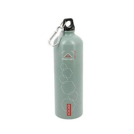 Elementerre Peak 1000 drinking bottle - gray