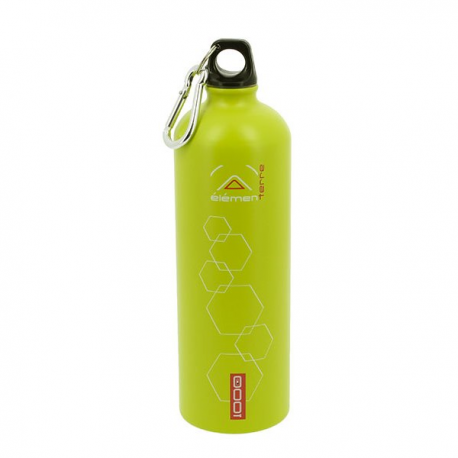 Elementerre Peak 1000 drinking bottle - green
