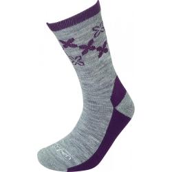 Lorpen T2 Merino Light Hiker Women Socks Violet S