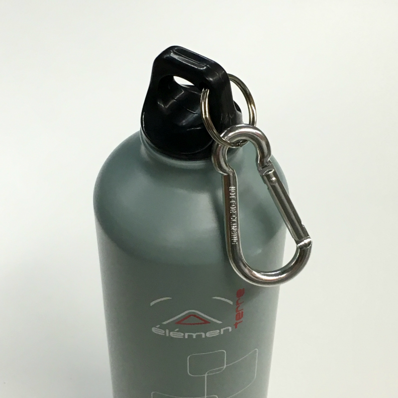 Elementerre Peak 750 drinking bottle - gray