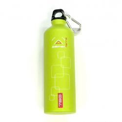 Elementerre Peak 750 drinking bottle - green