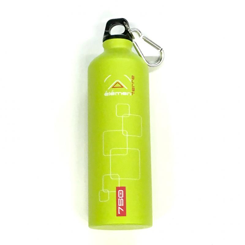 Elementerre Peak 750 drinking bottle - green