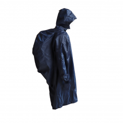 Poncho Altus Atmospheric Azul Marino M-L