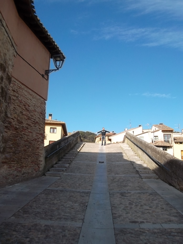The bridge of San Martín